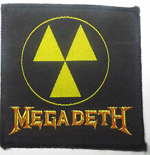 MEGADETH Vtg 80`s/90`s Woven Sew On Patch