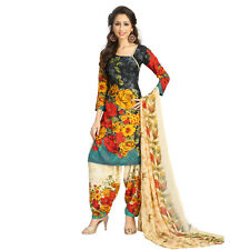 Indian Pakistani Bollywood Ethnic Suit Unstitched Designer Salwar Kameez Dress