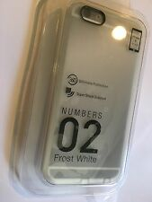 IPHONE 6, 6S NUMBERS CASE IN FROST WHITE by SwitchEasy AP-11-112-12