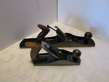 """Vintage Two wood planes one Sargent #418 18"""" & 2nd 9"""" US Made plane"""