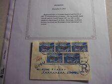 PENRHYN COOK ISLANDS Stamps - Registered 1903 Cover To GERMANY -- New Zealand