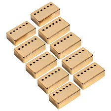 5 Sets of Humbucker Gold Guitar Pickup Covers Pole Spacing 52mm and 50mm