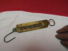 SPRING BALANCE (SALTER) Brass (1950/60) 0 - 500 Grammes