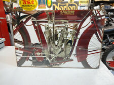 INDIAN OLD TWIN 4 MOTORCYCLE  SIGN PARTS & ACCESSORIES EC0216