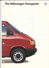 VW VOLKSWAGEN TRANSPORTER SALES BROCHURE 1993  1994