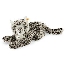 STEIFF Paddy Snow Leopard Light grey 42cm Child gift plush toy EAN 061684 New
