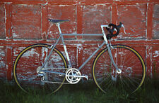 Custom Steel Bike.Road.Gravel.55cm.Phil wood.chris king.columbus.cinelli.lugged