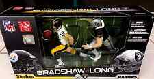 Okland Raiders Howie Long and Steelers Terry Bradshaw Mcfarlane Figure 2-Pack