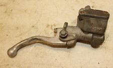 2002 HONDA XR400     FRONT BRAKE MASTER CYLINDER  (SLIGHTLY BENT LEVER)