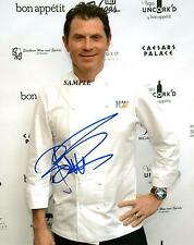 CHEF BOBBY FLAY REPRINT AUTOGRAPHED SIGNED PICTURE PHOTO AUTO RP COLLECTIBLE