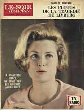 GRACE KELLY  LE SOIR ILLUSTRE