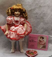Paradise Galleries Little Miss Valentine Treasury Collection Porcelain Doll 13""