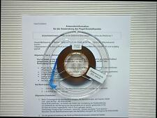 Calibration tape REFERENCE LEVEL 514 nWb/m 7.5 ips - 19 cm/s Pegel-Messband