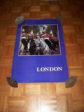 "LAMINATED 24X36"" TRAVEL ADVERTISING TOURISM POSTER~London England Queen's Guard~"