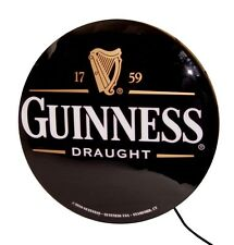 "Guinness Draught Single Sided 20"" Lightbox Sign - Real Distributor Item"