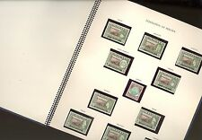 BRITISH COLONIES, Malaya, MINT NH Stamps mounted in a presentation book