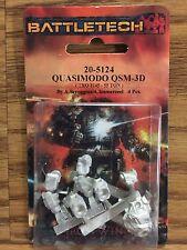 Classic BattleTech Miniatures: QSM-3D Quasimodo 20-5124 Click for more Savings