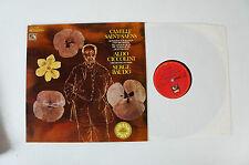 Camille Saint Saens Orchester Paris Ciccolini Baudo EMI  Schallplatte LP 30