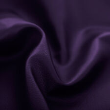 Purple Faux Leather Leatherette Upholstery Material FR Fabric Fire Resistant