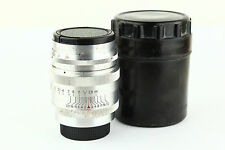 Rare! KMZ! Jupiter 9 85mm F/2 USSR Portrait Lens For FED Zorki Leica M39 !