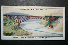 Gouritz River Crossing    New Cape Central Railway   Vintage Card VGC
