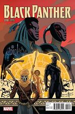 Black Panther #10 Marvel Comics 2017 Paolo Rivera Connecting Variant Cover Comic
