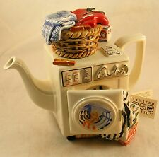 Paul Cardew Limited Edition Large Washing Machine Teapot Signed # 1732 of 5000