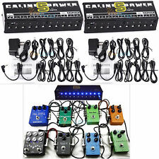 2 Set Caline Guitar Effect Pedal Power Supply 10 Isolated Output/Cables 9/12/18V