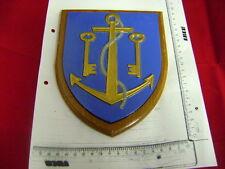 Marinewappen  Dekoration Wandschild Schiffswappen