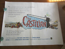 The Castilian -1963 - Original USA half sheet Poster   Frankie Avalon