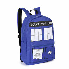 NEW Backpack Doctor Who School Bag  Tardis Dr. Who