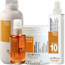 Nutri Care basic kit Mask + Shampoo + Fluid Crystals + Spray One Fanola ® 4 pcs