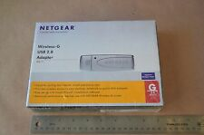 Netgear 54MPS Wireless G USB2.0 Adaptor (WG111 Wireless-G USB 2.0 ) NEW  #1588