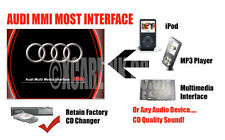 AUDI 2G MMI MAYORIA iPod iPhone Auxiliar De Entrada Audio Adaptador Interfaz A6