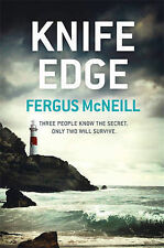McNeill, Fergus Knife Edge (DI Harland) Very Good Book