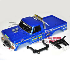 NEW Traxxas Original Bigfoot #1 Body Blue w/Mounts 2WD Stampede Painted3660 3619