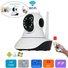 720P Network Infrared Wireless Wifi Night Vision Motion Detection Camera EU F
