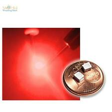 20 rojo SMD LEDs PLCC2 / 3528 profundidad red rouge rosso rood SMDs Led PLCC-2
