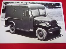 1950 'S DODGE POWER WAGON BOYERTOWN PA BODY WORKS 12 X 18 LARGE PICTURE  PHOTO