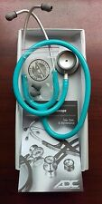 "ADC Adscope-lite Lightweight Stethoscope 31"" TURQUOISE 609TQ New in Box Warranty"