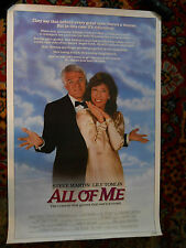 "All of Me (1984) Steve Martin 1 sheet movie poster 27""x41"" rolled NSS# 840079"