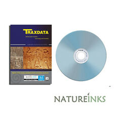 3 x TRAXDATA MDISC full face white printable DVD+R 4X 4.7 GB BLANK M Disc