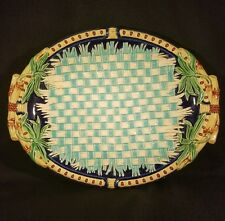 Antique Wedgwood Majolica Napkin Plate