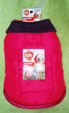 NWT Pet Central Dog Winter Pocket Jacket ~ Size X-Small - Red