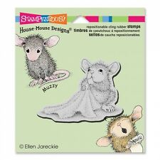 HOUSE MOUSE RUBBER STAMPS CLING BABY BLANKET NEW STAMP 2015