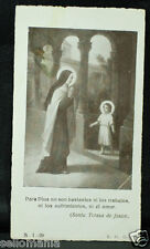 OLD BLESSED SAINT TERESA OF AVILA HOLY CARD ANDACHTSBILD SANTINI   SEE SHOP C929