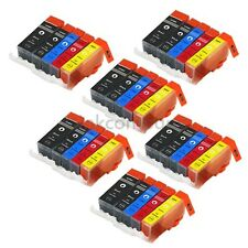 30x per ip4850 mg525 ip4950 mg5150 mg6150 mx885 mg5350 XL CON CHIP Canon PIXMA