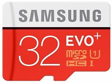 32GB Samsung EVO Plus microSD UHS-I class 10 up to 80MB/s W-20MB/s + SD adapter
