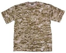 US shirt MARPAT Army USMC Desert digital t-shirt shirt Digi Camo Large