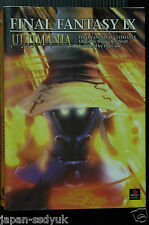 JAPAN Final Fantasy IX Ultimania Square official guide book